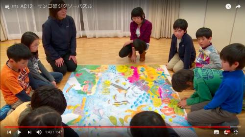 4.パズルが完成したら、参加者に絵をじっくり見てもらい、自然界のつながりや多様性についてみんなで考えます。