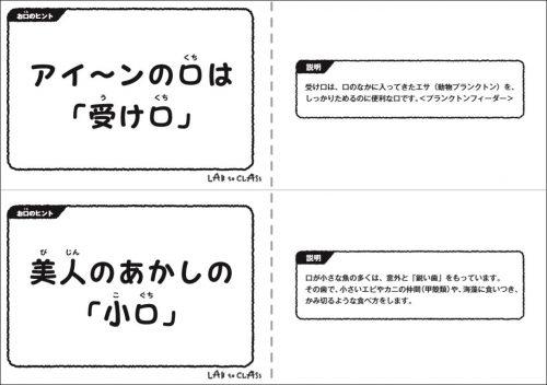 『ヒント』カード